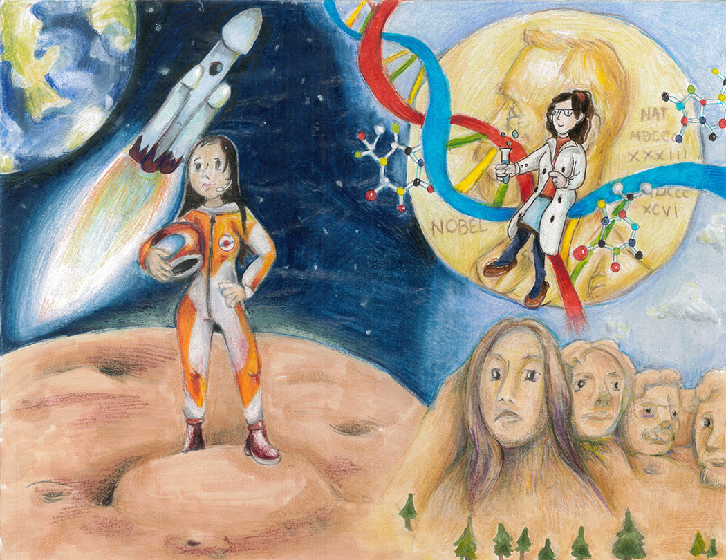 Emma Y. Li, Women in the Future, 4th Grade