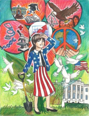 Quynh-Lam Vu Tran / Planting The Seeds Toward Our Future / Winner / 8th Grade