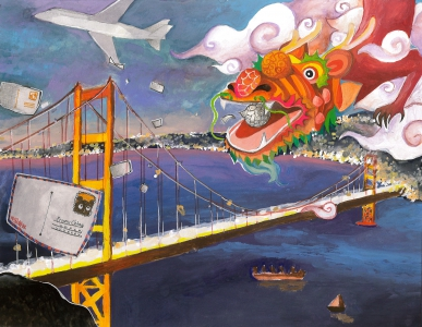 Ruijun (Vivian) Li / Travel With a Dragon to S.F. / Best in Class / Grade 8