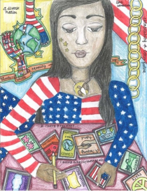 Reema Minawala / The American Dream / Winner / 8th Grade