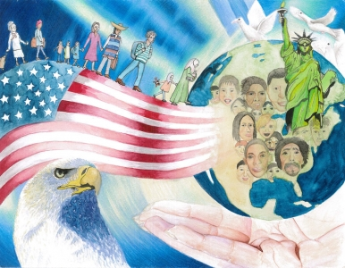 Welcome All To The Land Of Immigrants