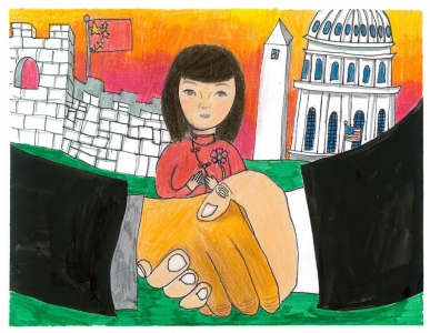 The Peaceful Handshake