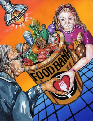 Christine Kim / Food, Hunger, and Community / Winner / 12th Grade