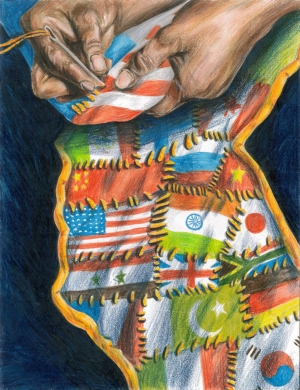 Making Of The Quilt