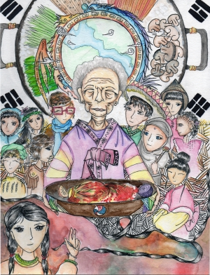 Rhee Kang / My Korean Heritage / Winner / 8th Grade