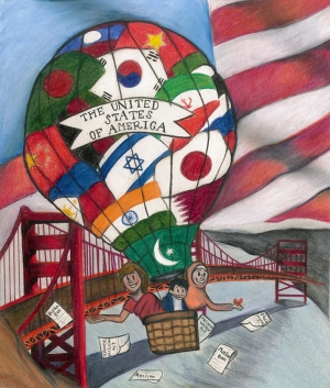 Zainab A. Attarwala, The Land of the Free, 11th Grade