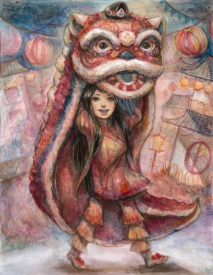 Alisha Gao / Festivity of the Lion Dance / Best in Class / Grade 8
