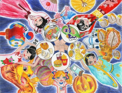 Jessica Qiu / Circle of Friendship / Winner / 4th Grade