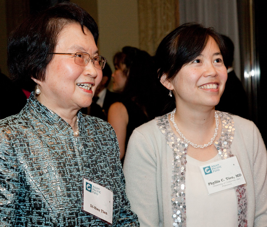 Di-Hwa and Phyllis Tien