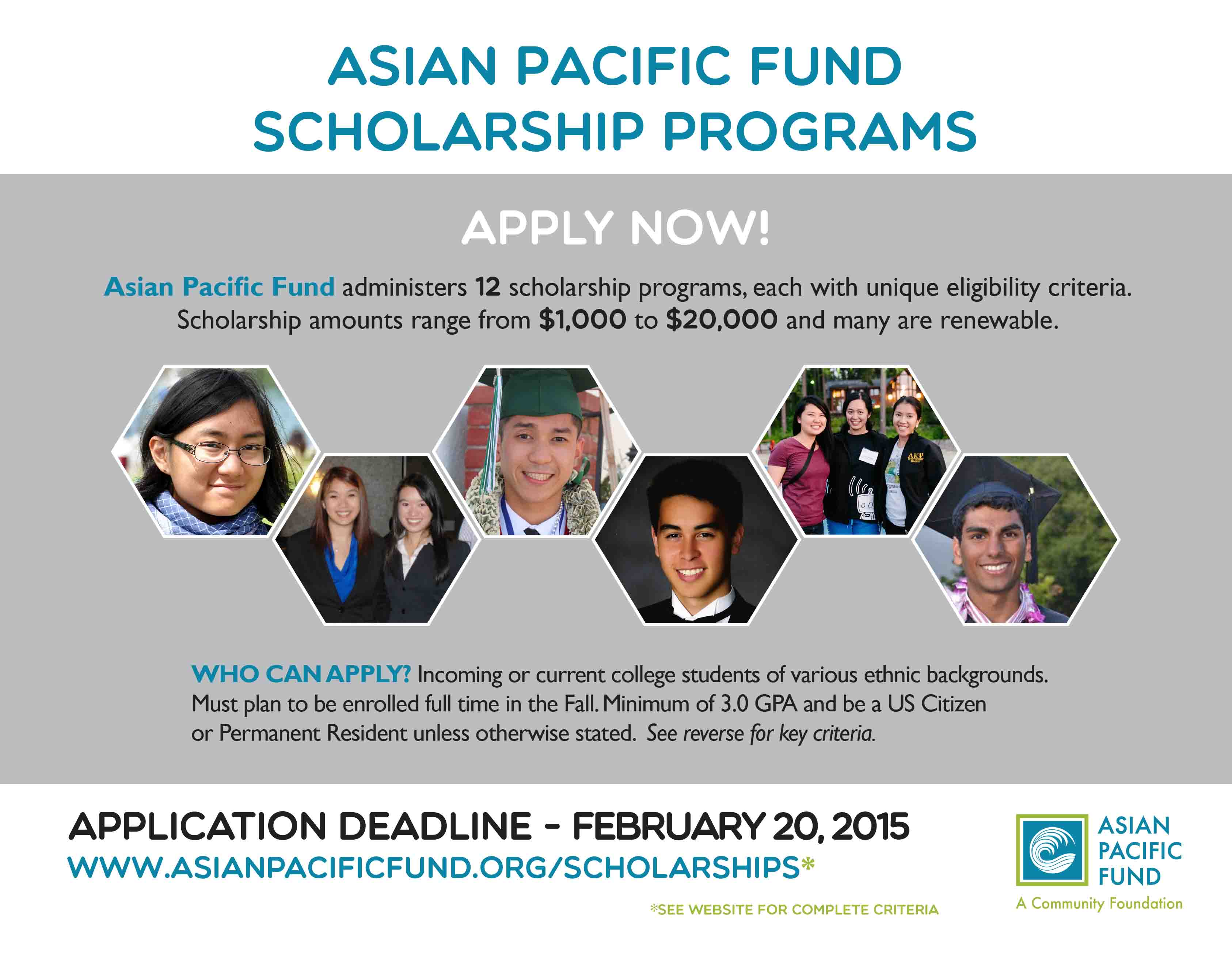 Impudence! Asian scholar fund You