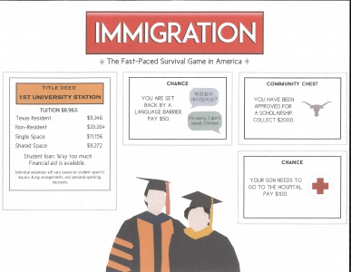 Angela Kim / The Game of Immigration / Honorable Mention / Grade 10
