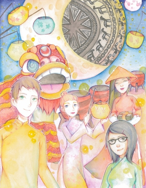 Vy-Anh Nguyen / My Vietnamese Harvest Moon Festival / Honorable Mention / Grade 8